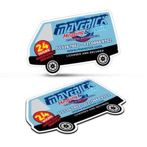 Fridge Magnet 90 x 55mm - Van Shape