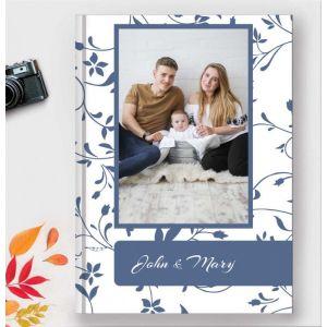 Teal Flora Photobook