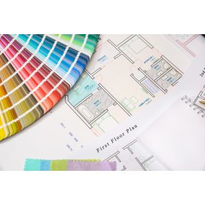 A1 Colour Plan Prints