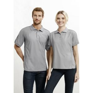 Mens Resort Breathable Piping Polo