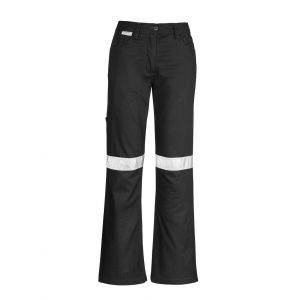 Womens 100% Cotton Twill Taped Utility Pant