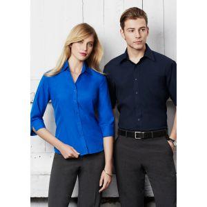 Ladies Plain Oasis 3/4 Sleeve Shirt