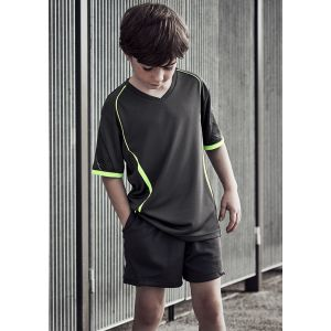 Kids Circuit Breathable Reflective Trim Shorts