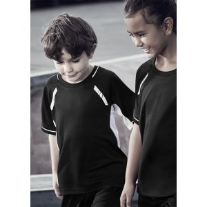 Kids Renegade Cool & Dry, Reflective Trims Sports Tee