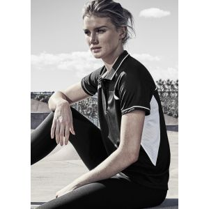 Ladies Renegade Breathable Reflective Trims Sports Polo