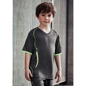 Kids Razor V-Neck Breathable Sports T-Shirts