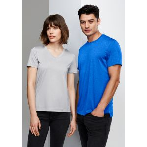 Ladies Aero V-Neck, Soft Touch Cotton, Breathable Tees