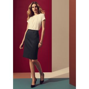 Womens Skirt with Rear Split