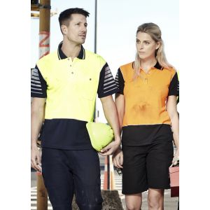 Mens Day Only SYZMIK Short Sleeve Polo