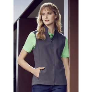 Ladies APEX Economy Priced Lightweight Softshell Vest