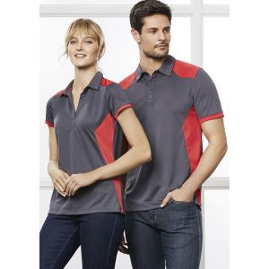 Ladies Rival Bold-Contrast Breathable Micro-Dry Polo
