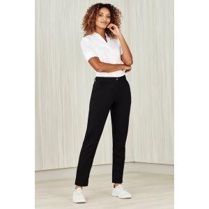 Womens Comfort Waist Slim Leg Pant