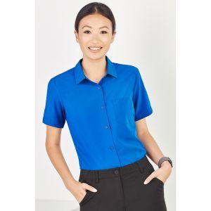 Womens Easy Stretch Short Sleeve Shirt