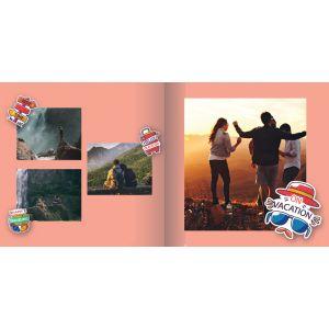 "Travel Photo Book 6"" x 6"""