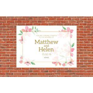 Wedding Card 8x5.5