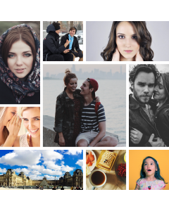 Photo Collage with Page Layouts