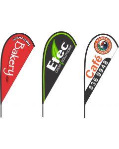 CUSTOM PRINTING WINDBLADE & TEARDROP FLAGS